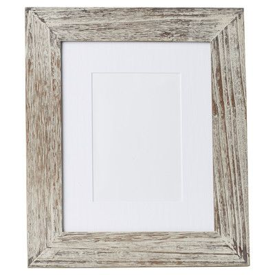 Grey Wood Picture Frame
