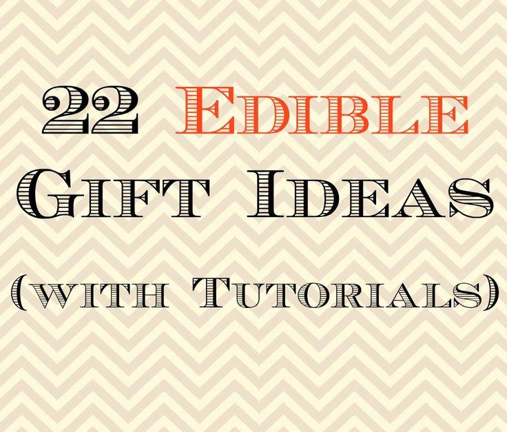 22 Edible Gift Ideas