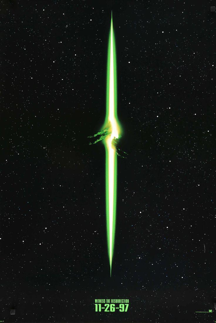 "Alien: Resurrection (1997) Vintage Movie Poster - 27""x 40"""