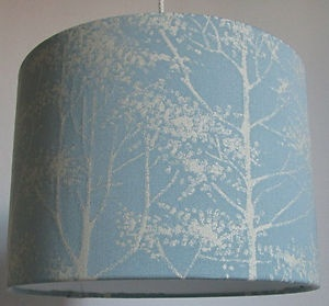 15 best lampshades images on pinterest ceiling lamps lamp laura ashley fabric lampshade silver birch duck egg reverse mozeypictures Choice Image