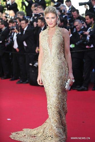 """Celebs arrive for """"Mr Turner"""" at 67th Cannes Film Festival - Global Times"""