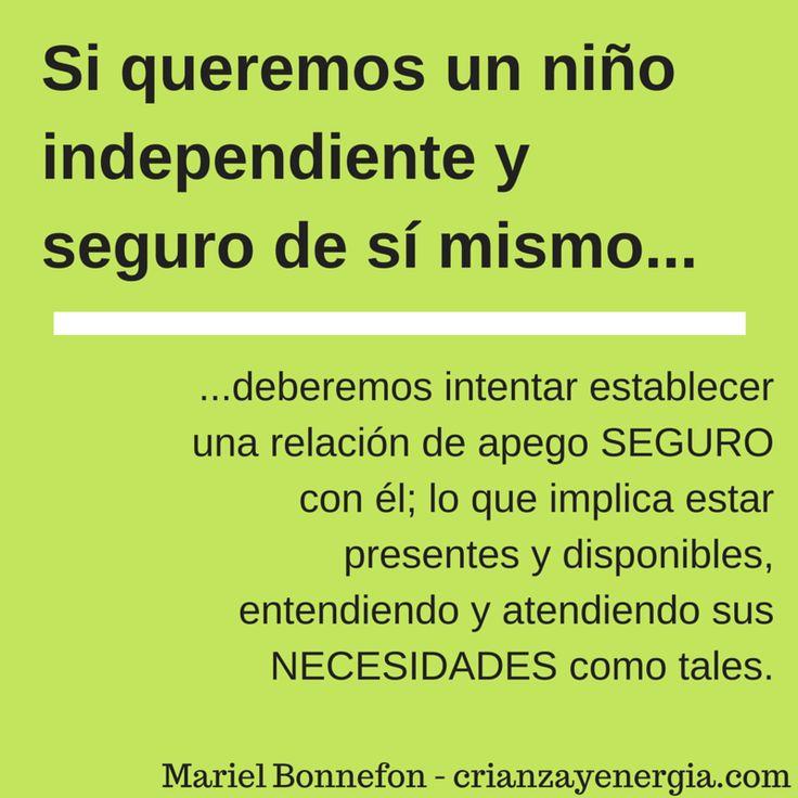 independencia y apego
