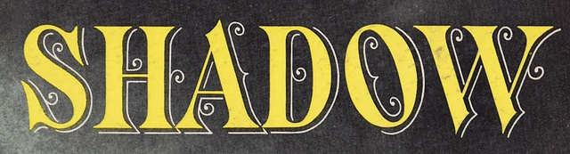 Nathan Godding, via Flickr,   Shadow, Lettering from an LP jacket.  Ted Lewis – Me And My Shadow  1956Vintage Typography, Shadows 1956, Lp Jackets, Ted Lewis, Nathan God
