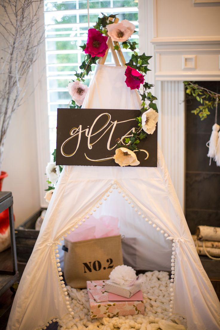Heres Another Photo From That Gorgeous Boho Baby Shower Designed