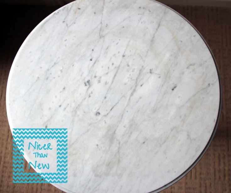 Removing Stains From Marble Table Top