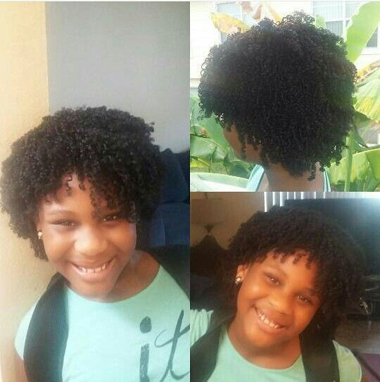Kids Protective Style Dry Hair Next Am Wash Creme Of Nature Argan