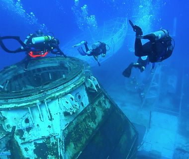 Underwater Attractions: Florida Keys Shipwreck Trail