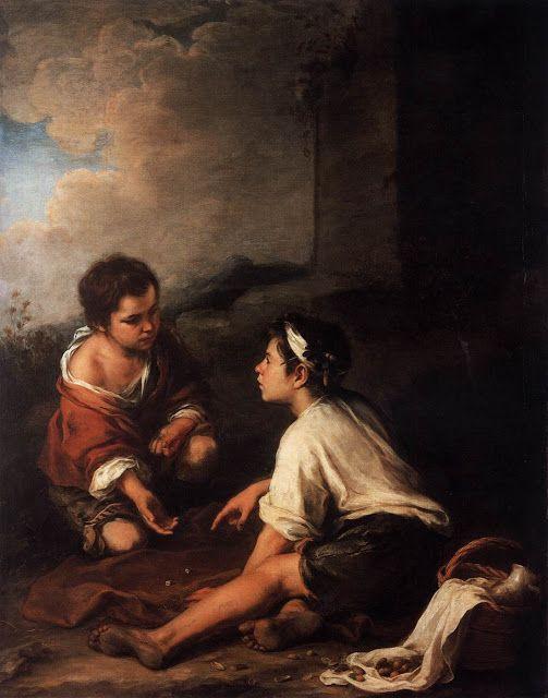Δυο παιδιά παίζουν ζάρια (1570-75)
