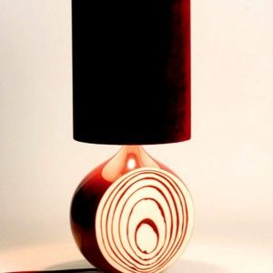 Furniture Dark Color Tube Shape Unusual Table Lamps With Onion Split Shape Unique And Unusual Table Lamps For Furniture Ideas Furniture, Home Accessories, Lamp and Lighting Unique And Unusual Table Lamps For Furniture Ideas