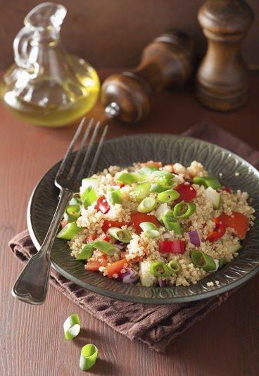 #Receta de Taboulé o ensalada de #couscous árabe - 10 Recetas de Comida para Llevar al Trabajo