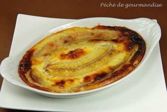 #Recette gratin de banane à l'Antillaise