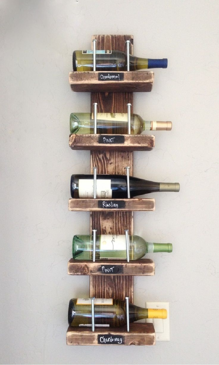 Pallet wine rack kit.  I must get this.  No cutting, or sawing, just order and put the pieces together.  Voila'