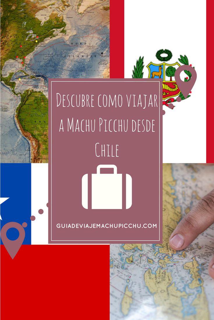 Todo lo que necesitas para viajar al #MachuPicchu desde #Chile. Desde la visa, vacunas, moneda de cambio. Encontralo en Guía de Viaje Machu Picchu #Peru  #viajar