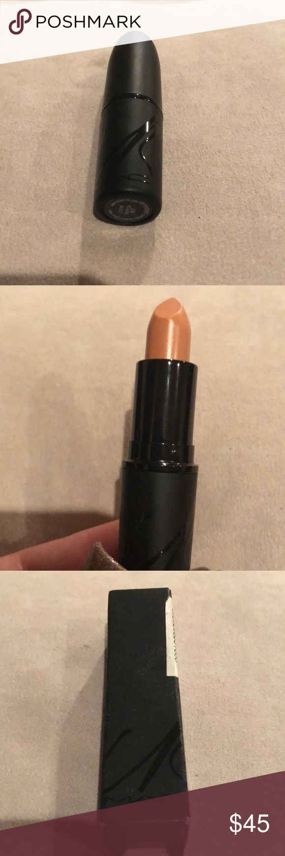 MAC & Carine Roitfeld: Tropical Mist Lipstick LE MAC & Carine Roitfeld: Tropical Mist Lipstick BNIB  MAC Tropical Mist Lipstick It's a wash of warm beige with a soft, frosted finish. It has a lustre finish. MAC Cosmetics Makeup Lipstick