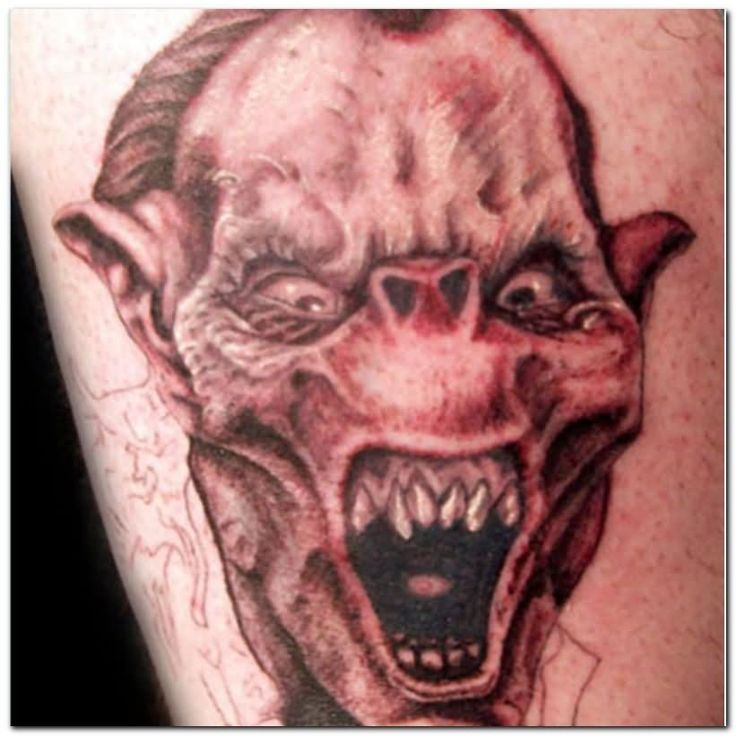 36 best Evil Face Tattoo Drawings images on Pinterest ...