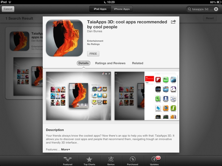 1.1 is here. Download free from the app store: www.taia76.com