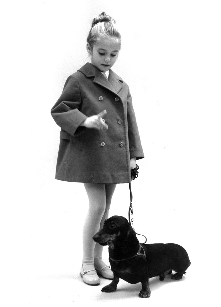 Little girl and her dog in Reima ad. Did you know, that Reima started exporting to the East and opened a sales office in Sweden already in the #1960s ? #Reima70