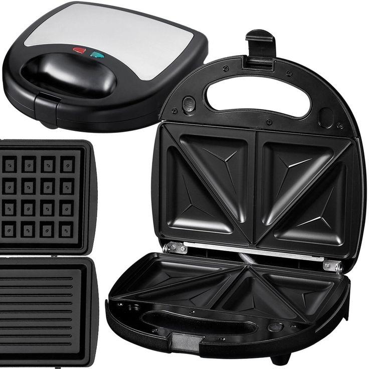 Jago SWMK03 Macchina per Waffle 3 in 1: Amazon.it: Casa e cucina