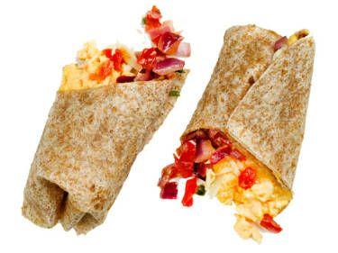 The quick breakfast burrito