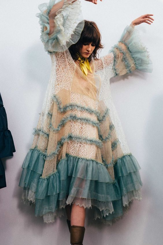 We love how Chloé does frills.