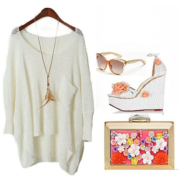 Spring 2014 New Women Sweater Fashion Loose Women's Pullover Sweaters Punk Camisolas Clothing TOPS Clothes Wear