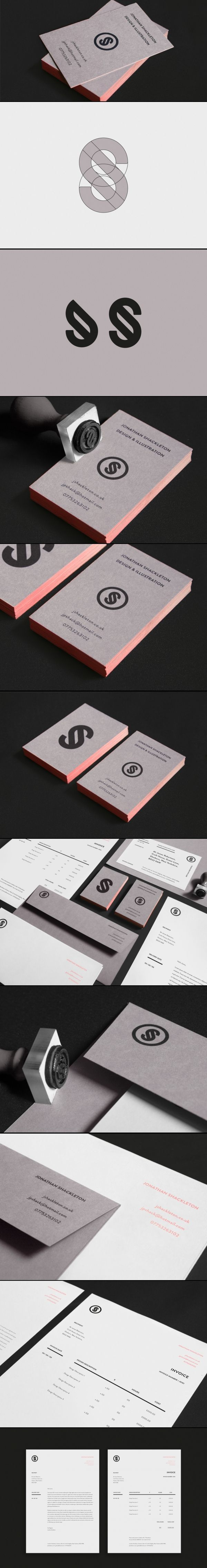 Corporate design logo business card identity