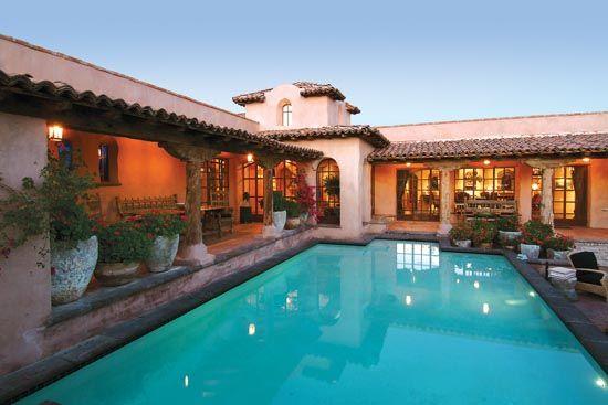 Arizona Homes Hacienda Rosetta Marie Built In 1999 In