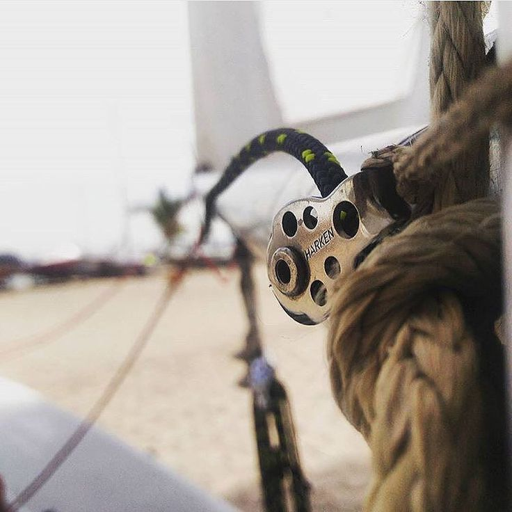 The littlest things can make the biggest difference. : @a_man______ #Harken #sailing #sailboat #pulley #tgif #yachting by harken_inc