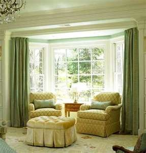 Window treatment for bay window window treatments for Coverings for bay windows