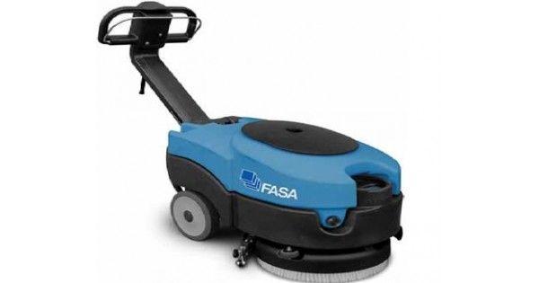 Aparat de frecat-aspirat FASA A1 36EDisponibil atât în varianta cu baterii cât si in varianta electrica, FASA A136 poate fi folosit pentru spalarea podelelor din sali de gimnastica, restaurante, institutii etc. Fiind usor de transportat, acest utilaj poate fi utilizat cu succes de