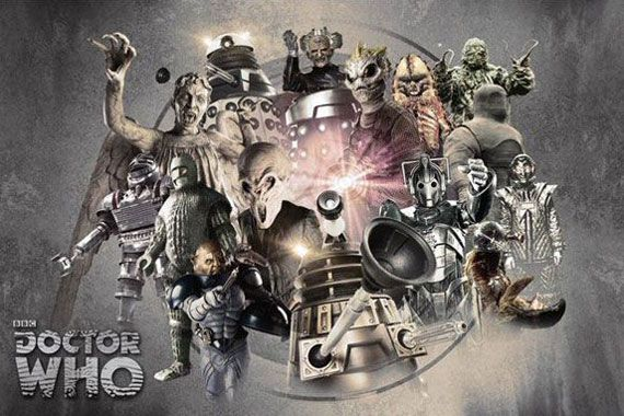 Official 50th anniversary artwork