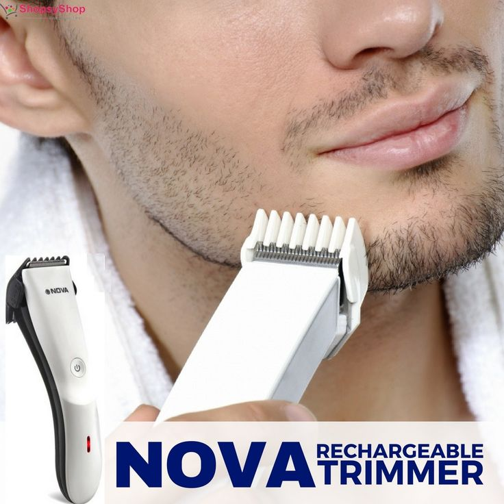 Buy #Nova Rechargeable #Beard & Hair #Trimmer for Men with ultra-silent motor at affordable prices from #ShopsyShop