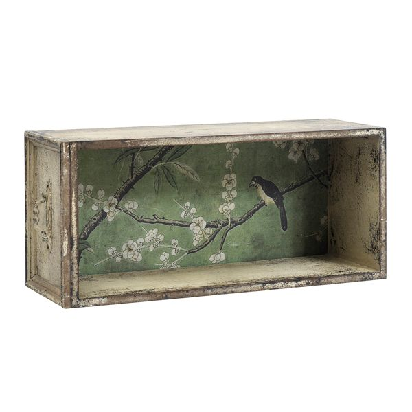 for a change. A wallpaper storage...a shabby unit that can make a differnec ono your wall. At Serendipity's