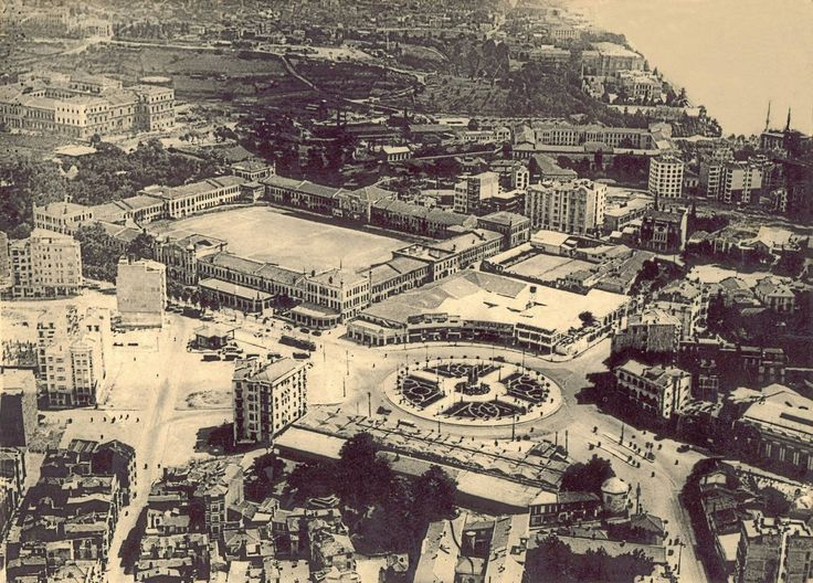 Taksim Bölgesi Hava Fotoğrafı / 1935 http://ift.tt/2kRSoBY