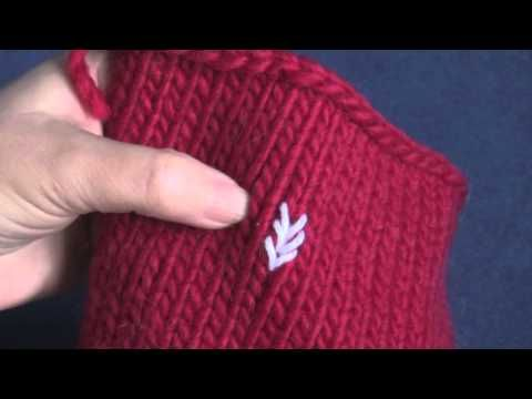 PlanetPurl: Learn How to Do Duplicate Stitch Embroidery on Knits (3/3/13, 5 mins).