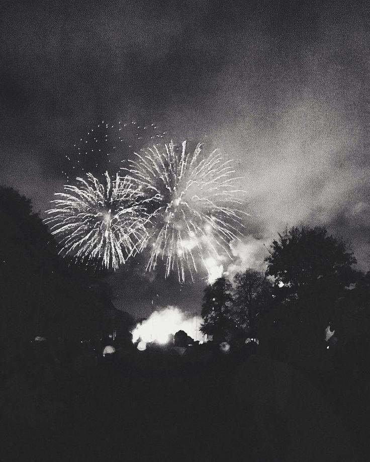 Fireworks in Victoria Park