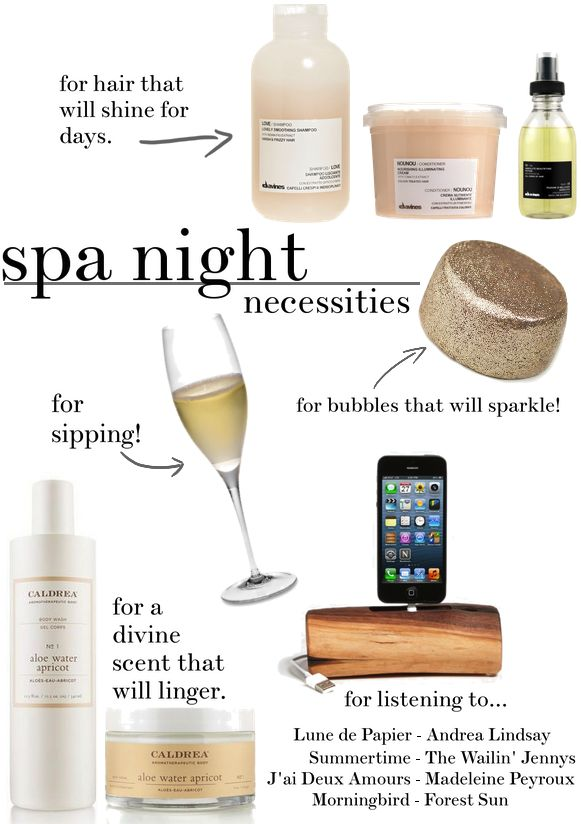 Midsummer is a great time to stay in for an at-home spa night. Give yourself, your hair, and your skin some R&R from the sun and heat. Here's how it's done in my house. –Dani 1. Grab some Davines Hair Care. If a beauty blogger tells you that they're on their second set of something, …