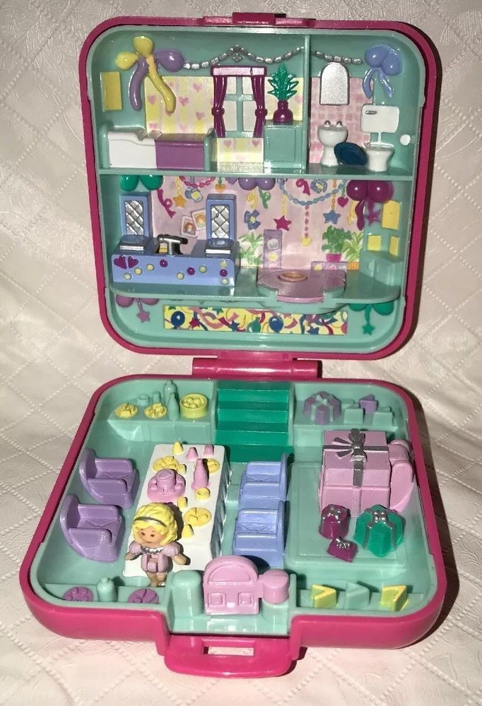 Polly Pockets For Sale: Vintage Polly Pocket Partytime Surprise Birthday Party