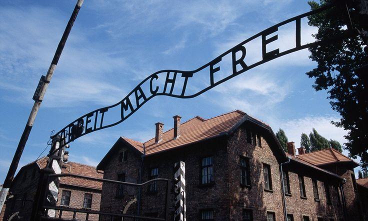 Vandals graffiti prisoner bunks and steal 'souvenirs' at Aushwitz