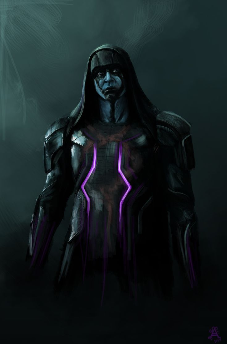 Guardians of the Galaxy - Ronan the Accuser by Ancha-Snow1