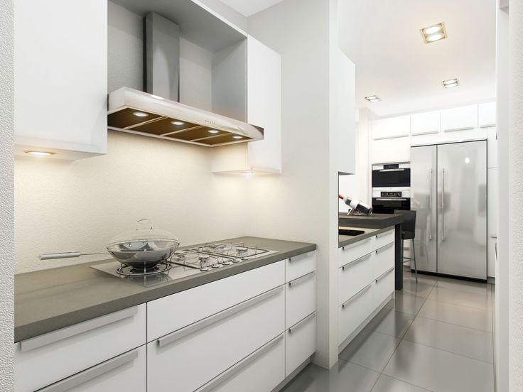 Grey and White Kitchen | Kitchen in Grey/White