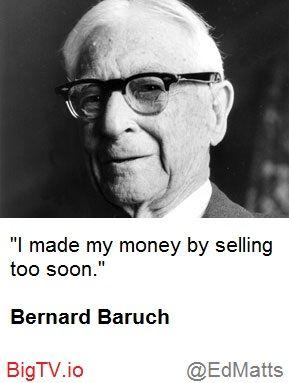 Selling too soon?