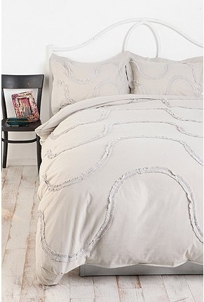 Pleated Ribbons Duvet Cover, urban outfitters: Dreamy Bedroomz, Ribbons Duvet, Bedroom Beauty, Duvet Covers, Dreamy Bedrooms, Pleated Ribbons, Master Bedroom, Bedroom Ideas