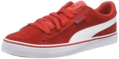 Puma Puma 1948 Vulc, Unisex-Erwachsene Sneakers, Rot (high risk red-white 03), 44 EU (9.5 Erwachsene UK) - http://on-line-kaufen.de/puma/44-eu-puma-puma-1948-vulc-unisex-erwachsene-3