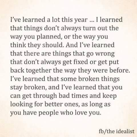 Life and what I've learned in a short 25 years.... Quarter life crisis are real and only a handful of people have been supportive through everything but I'm learning to accept that as my reality even though it's not easy