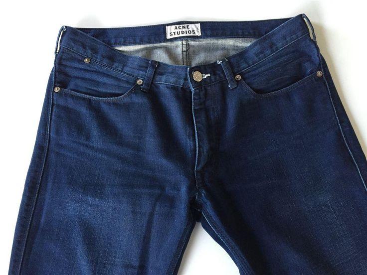 ACNE STUDIOS 33/32 Jeans Max Recycle på Tradera.com - Herrjeans
