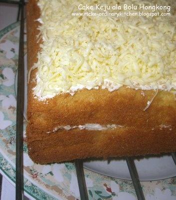 Just My Ordinary Kitchen...: CAKE KEJU ALA BOLU HONGKONG