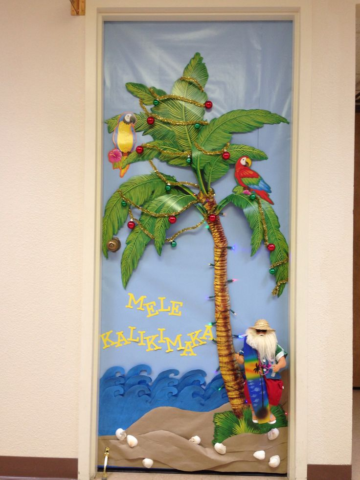 Door Decorating Contest At Work Holiday Door Decorations