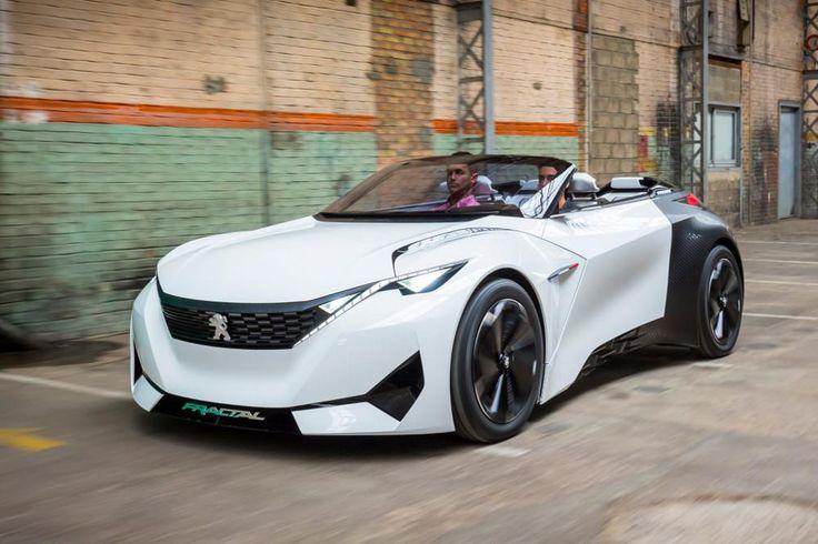 FRACTAL nouveau concept car Peugeot