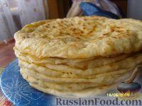 Фото к рецепту: Хычины с сыром и картофелем